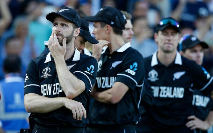 Kane Williamson after the final.