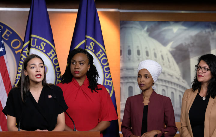 U.S. congresswomen targeted by Trump: 'We will not be silenced'