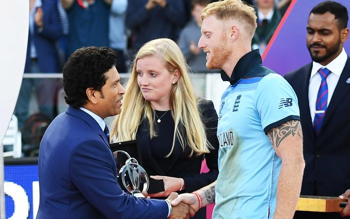 Ben Stokes was player of the match in the World Cup final.