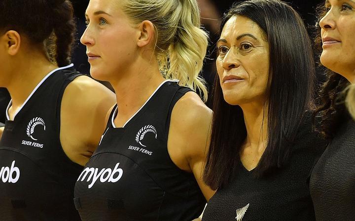 Silver Ferns head coach Noelene Taurua.