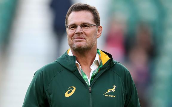 Springboks coach Rassie Erasmus.