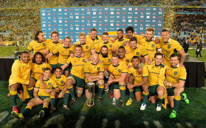 Wallabies win Rugby Championship in 2015.