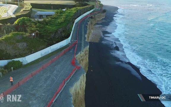 Coastal erosion forces Timaru sports clubs to move