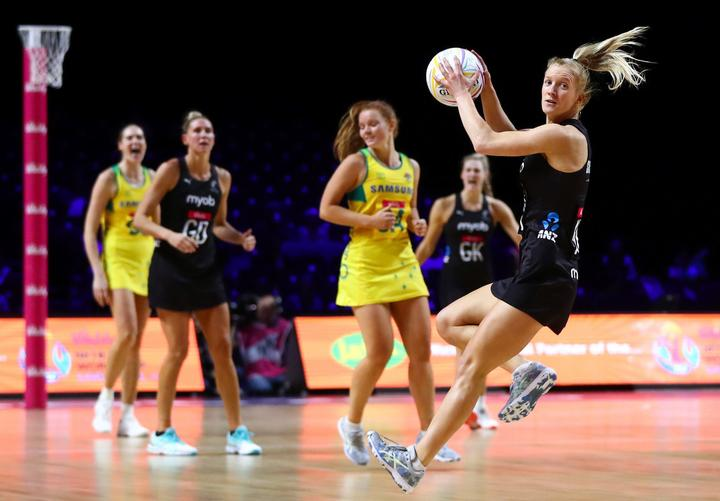 Netball World Cup 2019 - Australia v New Zealand - M&S Bank Arena, Liverpool, England - Shannon Saunders of New Zealand. 