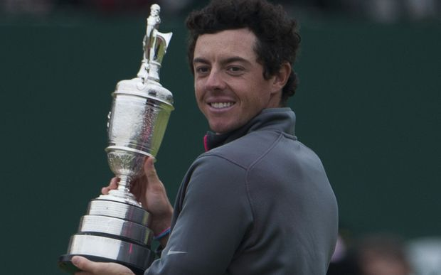 Rory McIlroy wins 2014 British Open.