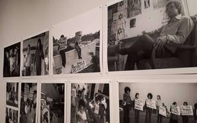 A selection of images from the 1970s, the era of the dawn raids, by photographer John Miller, as part of the exhibition.