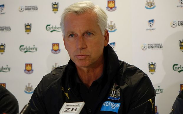 Newcaslte United manager Alan Pardew.