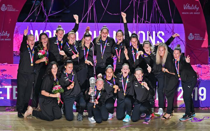 Silver Ferns win 2019 Netball World Cup.