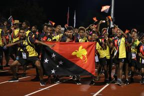 PNG finished runners-up at Pacific Games in Apia.