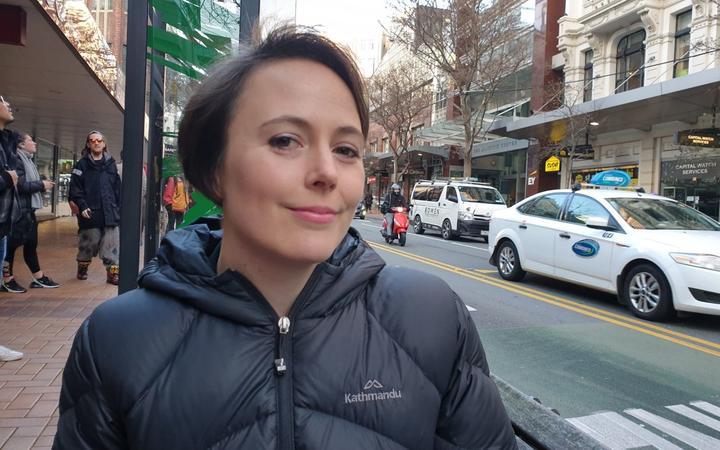 Climate campaigner Amanda Larsson.