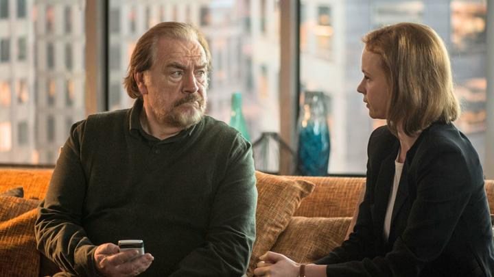 Brian Cox as Rory and Thora Birch as daughter-in-law Emily in Rory's Way.