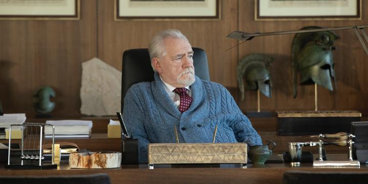 Brian Cox as Logan Roy in a still from the forthcoming second season of Succession.