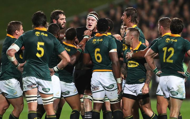 Brodie Retallick predicts another fiery encounter between the All Blacks and the Springboks in Wellington.