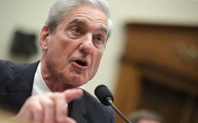 Robert Mueller testifies before the House Intelligence Committee about his report on Russian interference in the 2016 presidential election.