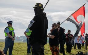 People continue to occupy Ihumatao after protesters were served an eviction notice which led to a stand-off with police.