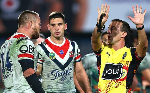 Criticism of refereeing performances isn;t affecting officials confidence says NRL.