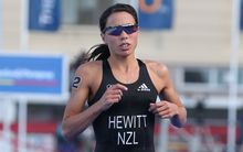 New Zealand triathlete Andrea Hewitt.