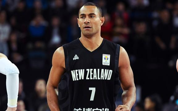 Tall Blacks captain Mika Vukona.