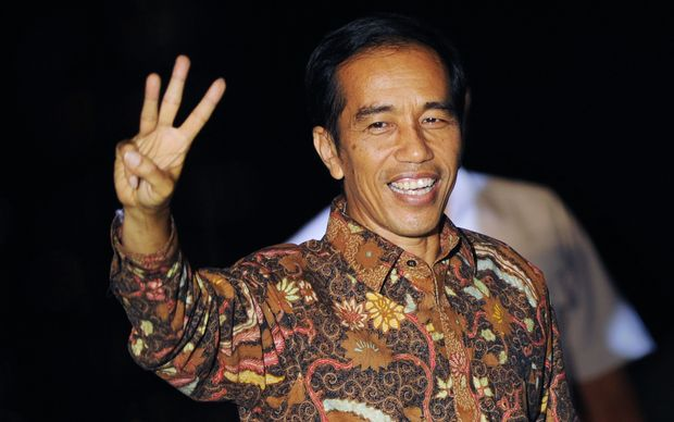 Joko Widodo made a victory speech calling for unity.