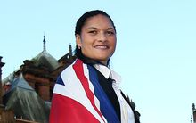 Val Adams named NZ flag bearer for Glasgow Commonwealth Games 2014.