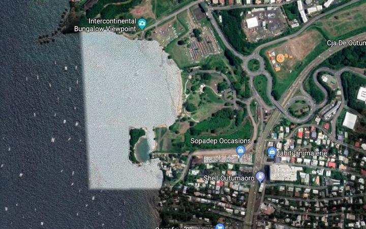 Proposed site for Tahitian Village resort complex