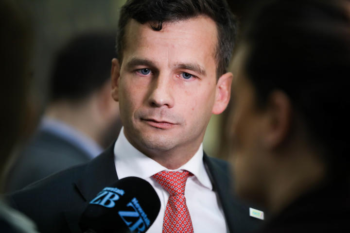 ACT Party leader David Seymour speaks to media ahead of the committee stage for his End of Life Choice bill.