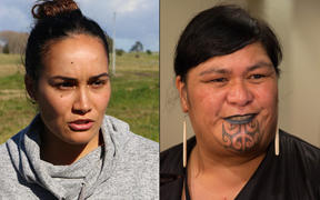 Co-founder of SOUL Pania Newton and Māori Development Minister Nanaia Mahuta.