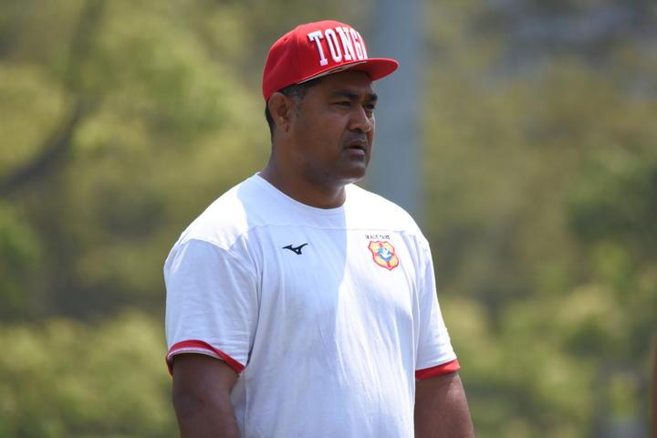 Tonga rugby coach Toutai Kefu.