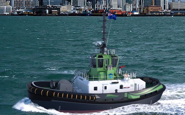 World first: Ports of Auckland to add electric tugboat to its fleet