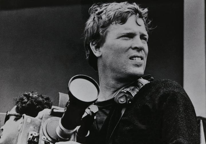D.A. Pennebaker in England in 1965 shooting the film that would become Dont Look Back.