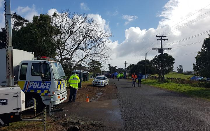 Ihumātao occupation in South Auckland on August 5, 2019.