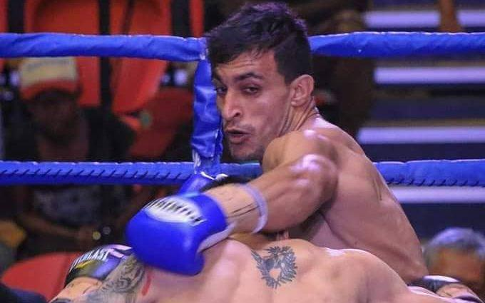 Ezatullah Kakar lost his bout with a Korean opponent.