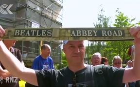 50th anniversary of Beatles' Abbey Road crossing celebrated