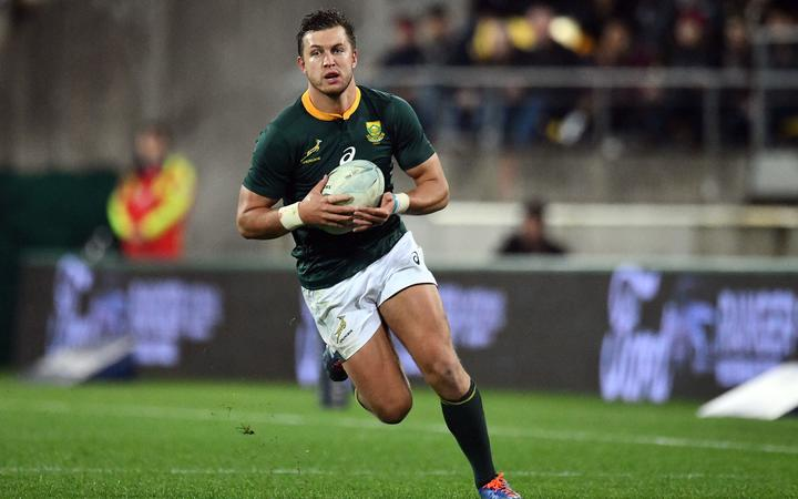 Springbok first five Handre Pollard