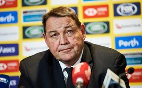 Steve Hansen, coach of the All Blacks.