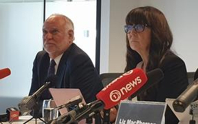 The independent reviewers into Stats NZ's census 2018, Murray Jack and Connie Graziadei.