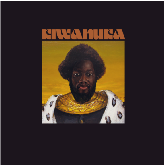 Album artwork for Michael Kiwanuka's  third studio album 'Kiwanuka'