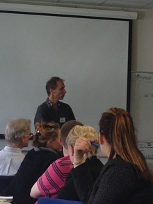 Nicky Hager spoke to journalists at the 2014 NZ Centre for Investigative Journalism conference in Wellington.