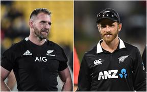 All Blacks captain Kieran Read and Black Caps captain Kane Williamson.