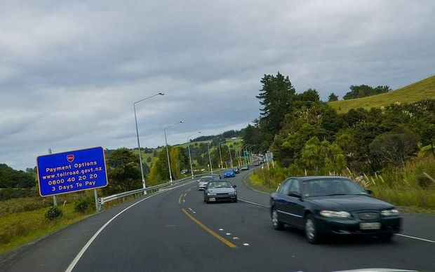 SH1 travelling south towards Puhoi