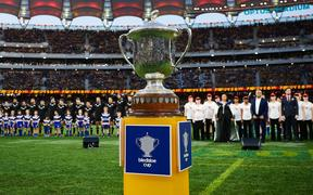 The All Blacks have held the Bledisloe Cup for the past 17 years.