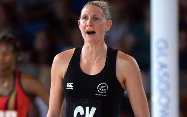 Casey Kopua of the Silver Ferns during a Netball Preliminary Group A match against Malawi. Glasgow Commonwealth Games. Scottish Exhibition Conference Centre, Glasgow, Scotland. Friday 25 July 2014.