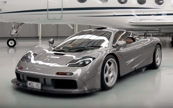 McLaren F1 supercar owned by New Zealander sells for $US19.8 million