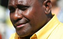 Solomon Islands Prime Minister, Gordon Darcy Lilo