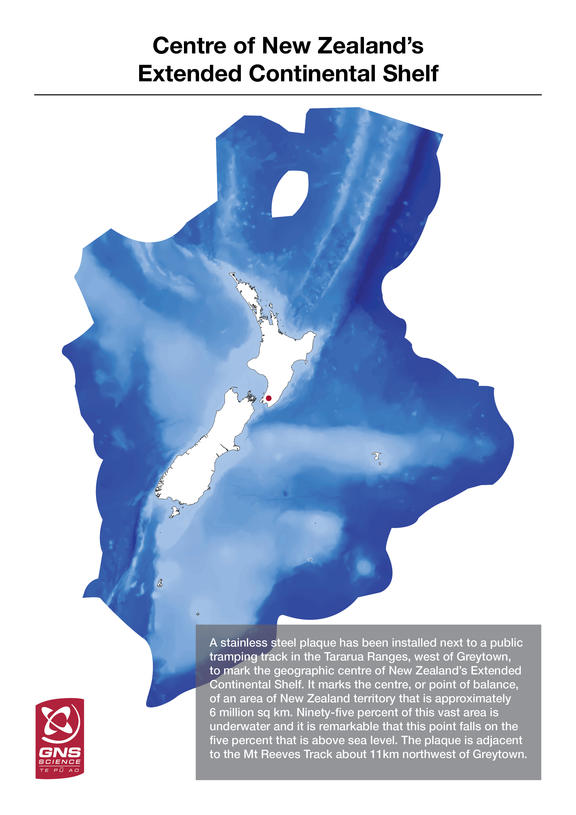 New Zealand's extended continental shelf.