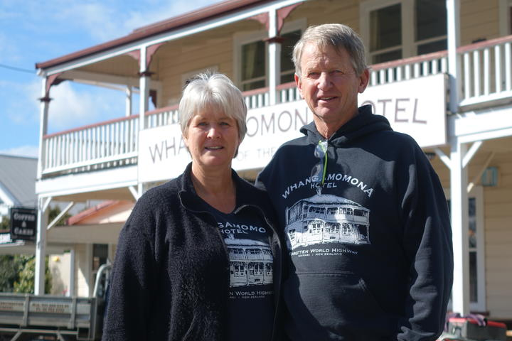 Current owners Richard and Vicki Pratt.