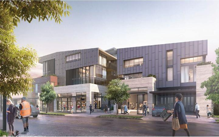 Updated Panuku complex design for corner of Dominion and Valley Roads in Mt Eden