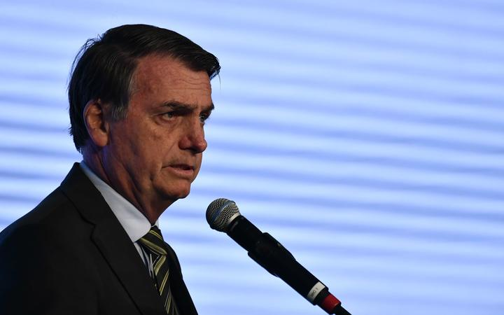 DF - Brasilia - 21/08/2019 - Congress of the Steel 2019 - Jair Bolsonaro, President of the Republic, this Tuesday, August 21st, during the Congress of the Steel held at the CICB. Photo: Mateus Bonomi / AGIF