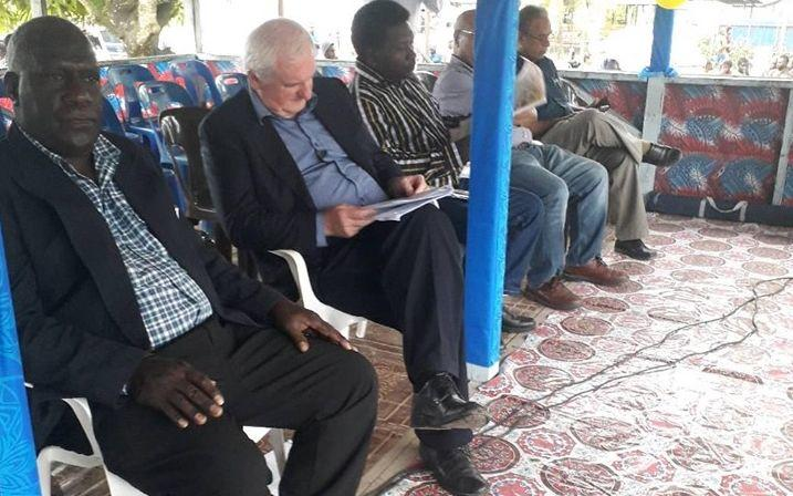 Bougainville Referendum Commissioners in Buka.