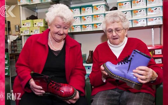Sally's sole advice after 70 years at Saunders Shoes